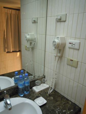 Santos Hotel: hair dryer