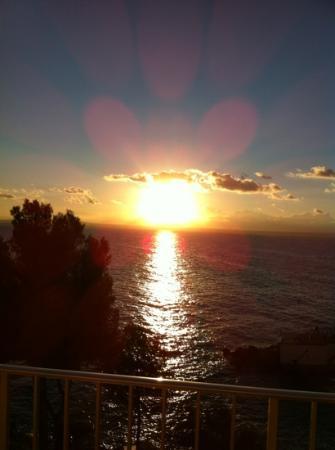 Hotel Riu Palace Bonanza Playa: sunrise from room 638