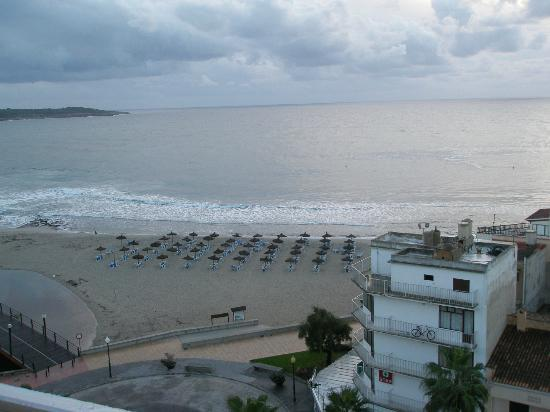 Playa Moreia Apartments: 7th floor view