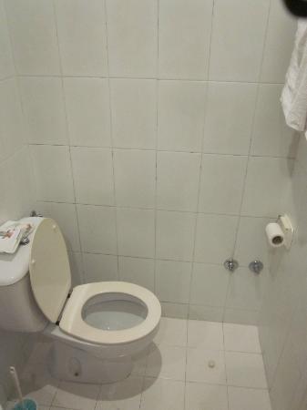 Hostal Acacia: Baño (limpio, eso sí)