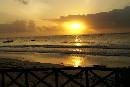 Diani Blue: amazing sun rise