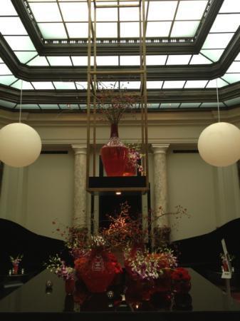 Hotel de Rome: gorgeous lobby