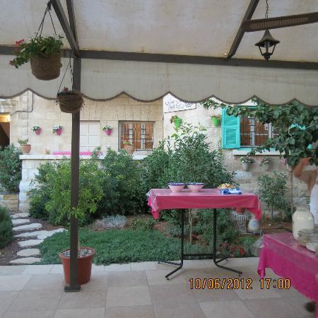 Beit Sitti: la terrasse