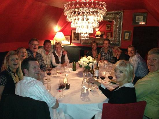 The Punch Bowl Inn: Private dining room and a top party!