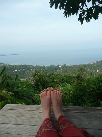 Jungle Club Boutique Resort: Overlooking the bay