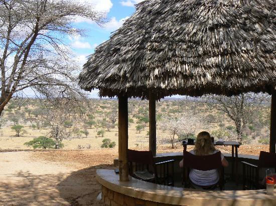 Tarangire Safari Lodge: The view from our room