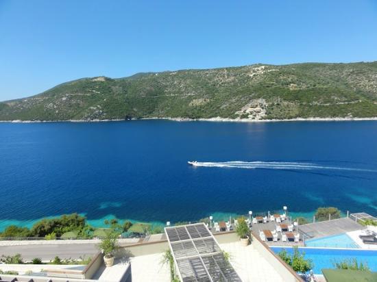 San Nicolas Resort Hotel: Stunning view from the honeymoon suite