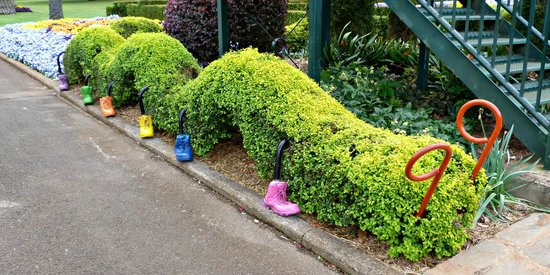 Toowoomba, Australien: gardens for the little ones..