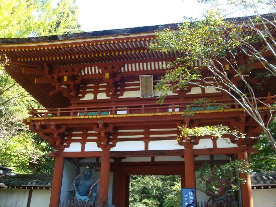 Uda, Japan: 仁王門