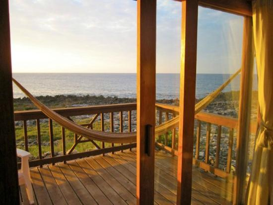Cocolobo: View from the room overlooking water with a hammock!