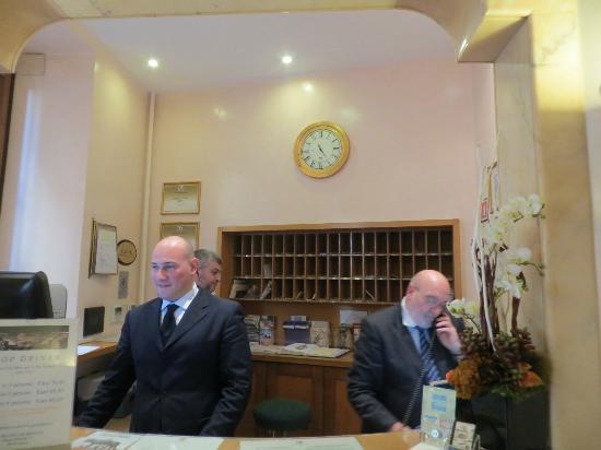 Albergo Cesari: Our Helpful Front Desk Staff