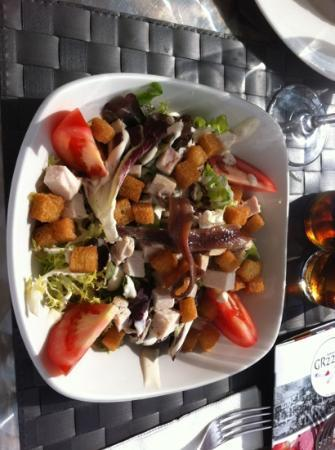 GR221: Caesar salad yum