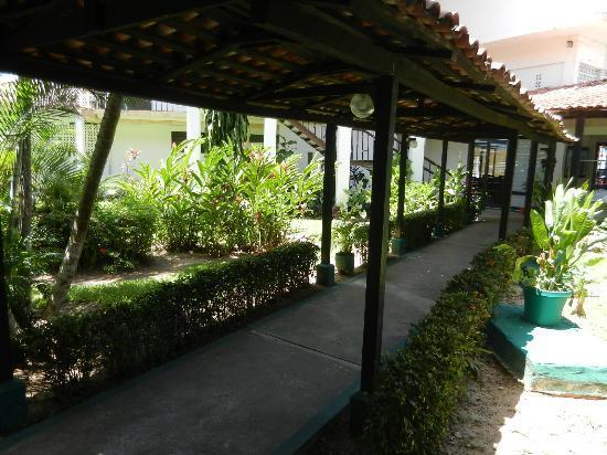 Tulija Express: around the Hotel courtyard