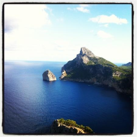 1907 Restaurant & Cafè: viewpoint on way to Formentor beach