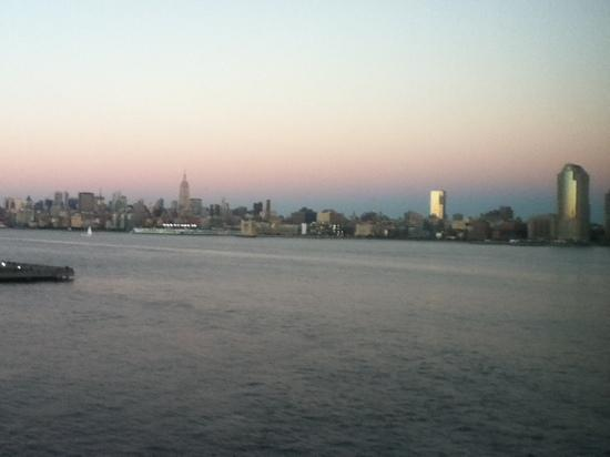 Hyatt Regency Jersey City: view from room