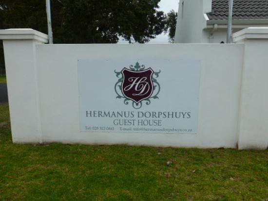 ‪‪Hermanus Dorpshuys‬: Bord