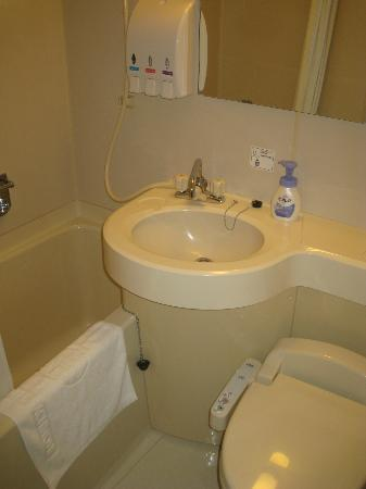 Pacific Hotel Hachinohe: 風呂