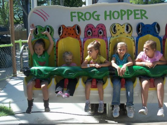 Indiana Beach Amusement Resort: Frog Hopper