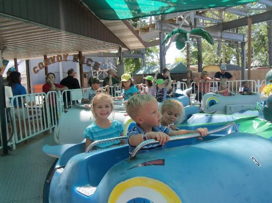 Indiana Beach Amusement Resort: kiddie land