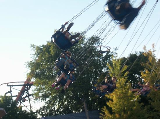 Indiana Beach Amusement Resort: Swings