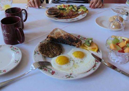 Inn at Jackson: 朝食。