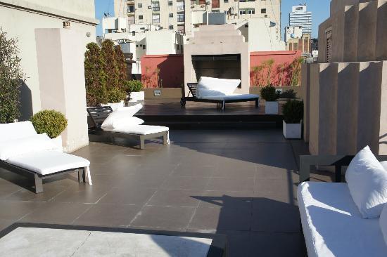Moreno Hotel Buenos Aires: lareira