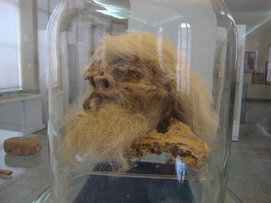 National Museum of Iran : The Salt Man