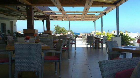 Karma Restaurant: sea view