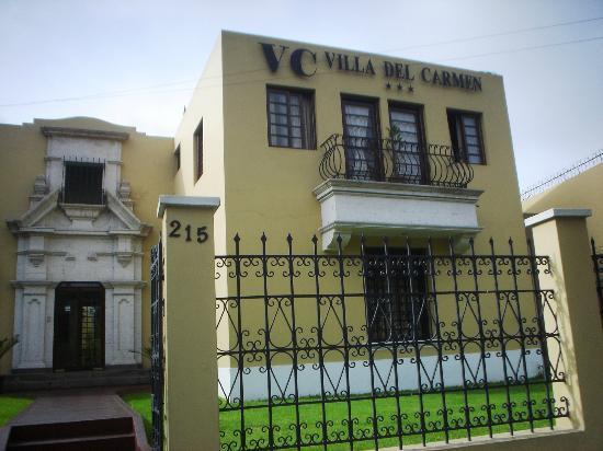 Hotel Villa Del Carmen : Entrada