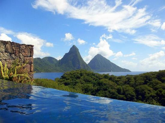 Jade Mountain Resort: Amazing views!