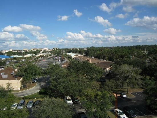 Comfort Inn Orlando/ Lake Buena Vista: View from other direction 7th floor