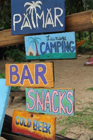Palmar Beach Lodge: Sign