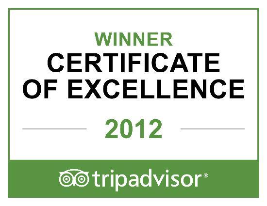The Wilshire Grand Hotel: 2012 Winner Certificate of Excellence