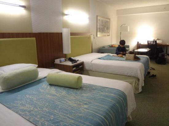 SpringHill Suites Durham Chapel Hill: 部屋