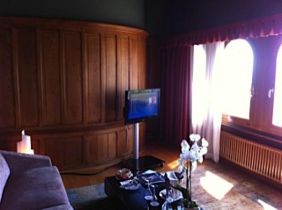Le Chateau d'Ouchy: La suite spacieuse