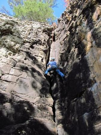 Horseshoe Canyon Ranch: Climb on!