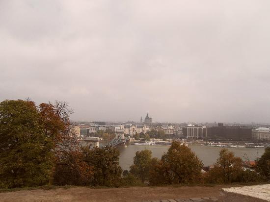 Budaslottet (Kiralyi Palota): Buda Castle-view