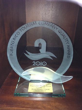 Turtle Bay Inn: Quality Award Best Facilities 2010-2011-2012 PRTC