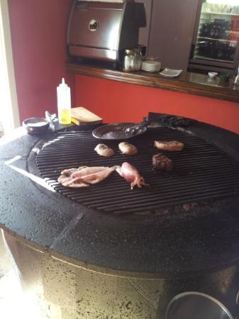 Grill Las Brasas : The grill