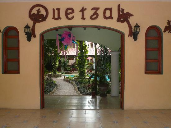 Casa Quetzal: Acceso principal