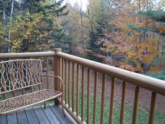 Moose Meadow Lodge: Teddy Bear room's balcony