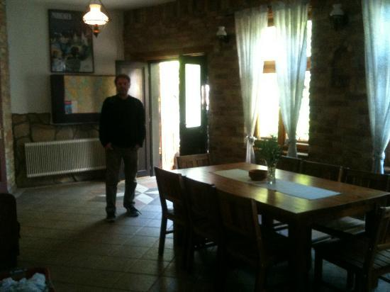 Hungaria Guesthouse: Reception