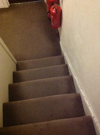 Bennys B and B: Stairway