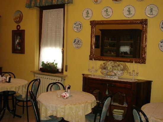 Albergo Il Gufo: Sala colazioni