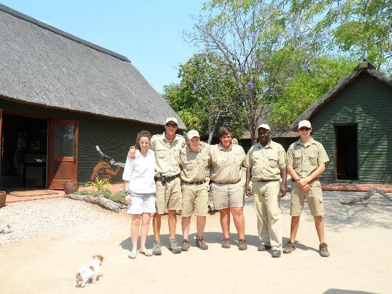 Nkorho Bush Lodge : Top staff ready to help 24 hrs a day.