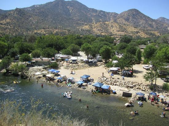 Camp Kernville : Located right on the Kern River!
