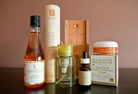 Bare Hands Day Spa: Eminence Organic Skin Care is great for any skin type.