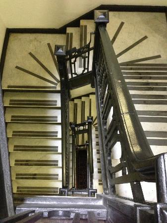 Radisson Lackawanna Station Hotel Scranton: Stairs