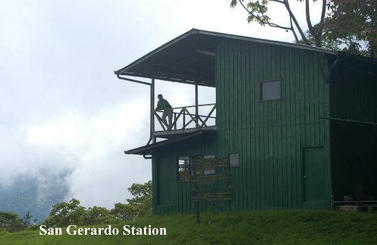 San Gerardo Biological Station: Station