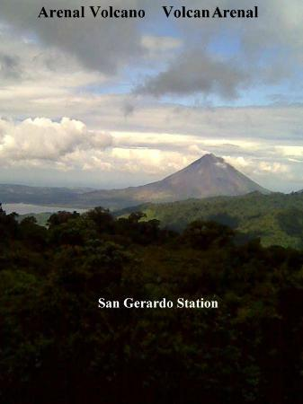 San Gerardo Biological Station: View from trails
